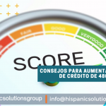 Consejos para aumentar su puntaje de crédito de 480 a más de 700