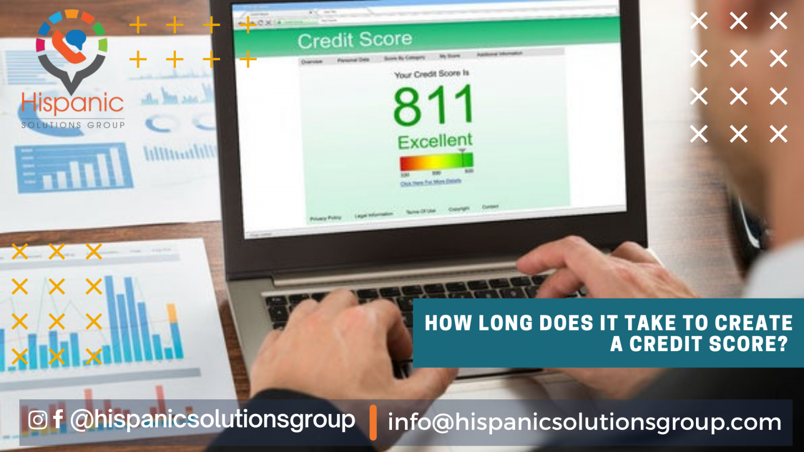 How long does it take to create a credit score?
