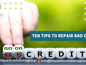 Repair bad credit
