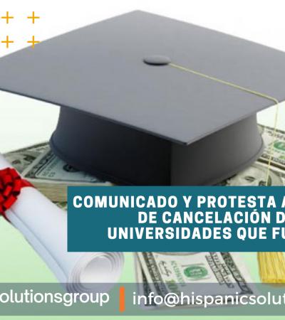 CANCELACIÓN DE DEUDAS DE LAS UNIVERSIDADES