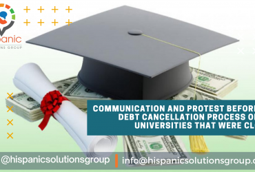 Cancellation of Debts of the universities