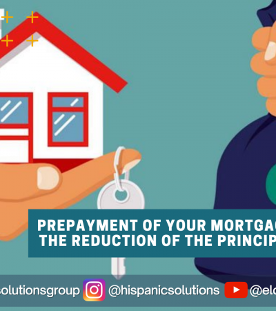 Prepayment of your mortgage
